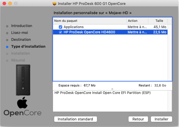 HP ProDesk 600 G1 OpenCore Captu108