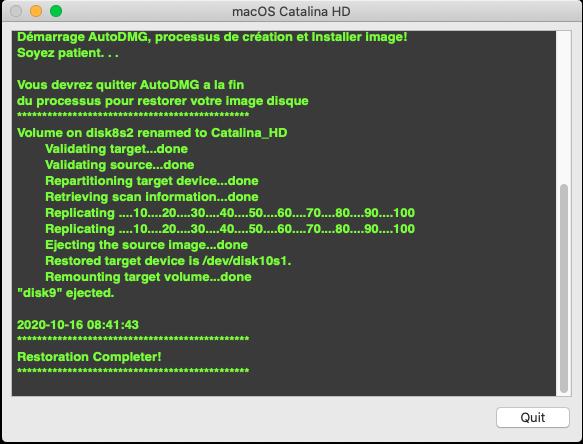 [résolu]Probleme Catalina HD Captu231