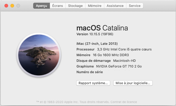 Mise a jour macOS Catalina 10.15.5 (19F96) Captur73