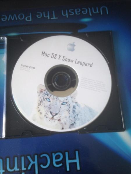 Tuto  Snow Leopard Version Gold Master 10A432 sur HP ProBook 6560b . Img_2210