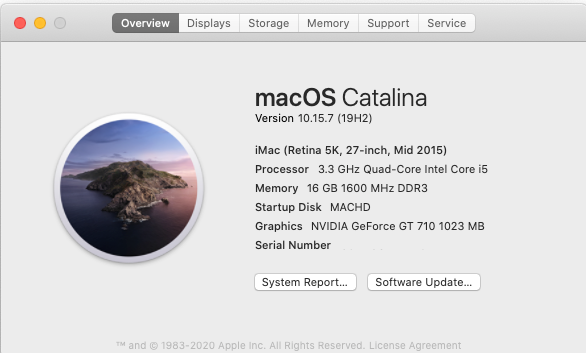 Mise a jour macOS Catalina 10.15.7 (19H2) Screen55