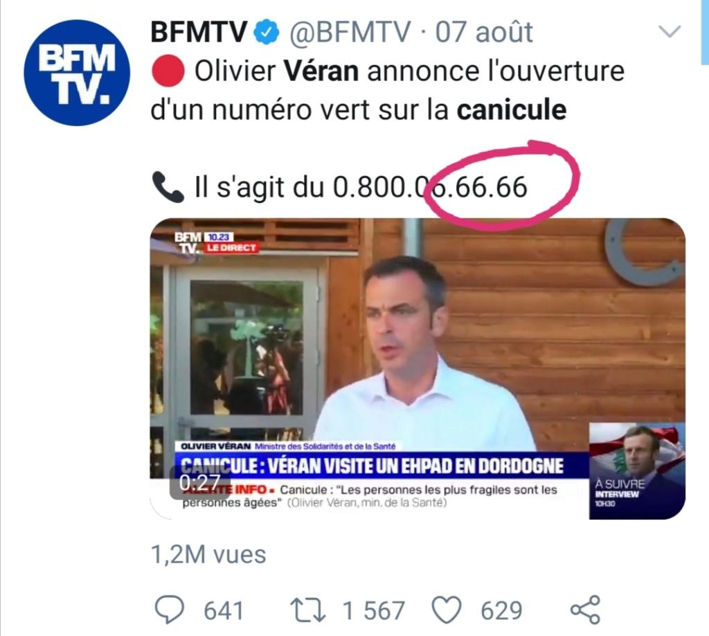 """Macron et""""l'arrivée de la Bête """" (sa petite phrase du 22 mai 2020)  Screen11"""