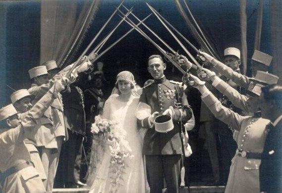 grosse identification album photo mariage officiers français tenues modèle 22  0002b11