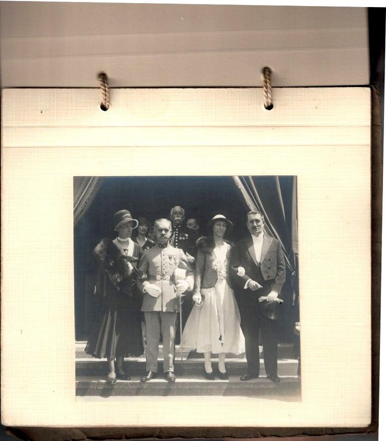 grosse identification album photo mariage officiers français tenues modèle 22  000920
