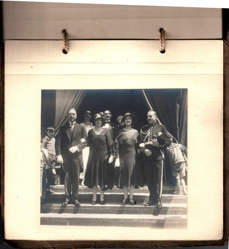 grosse identification album photo mariage officiers français tenues modèle 22  001118