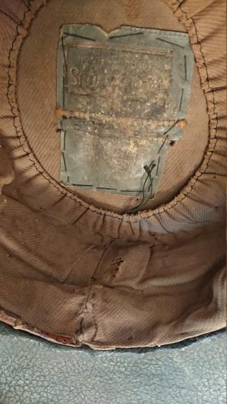 Képi brodé aux épis de blé 1900 Dsc_2815
