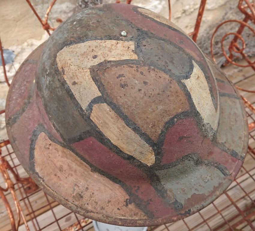 CASQUE US 17 CAMOUFLE 4 TONS (?) SORTIE DE GRENIER Dsc_6713