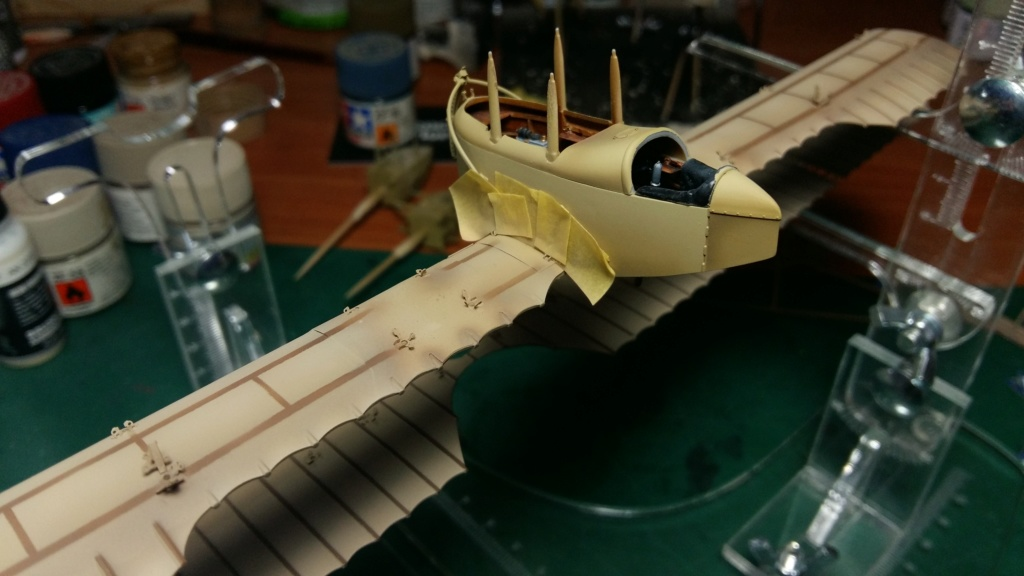 Caudron G.IV Late version 1:48 Copper State Models Img_7343