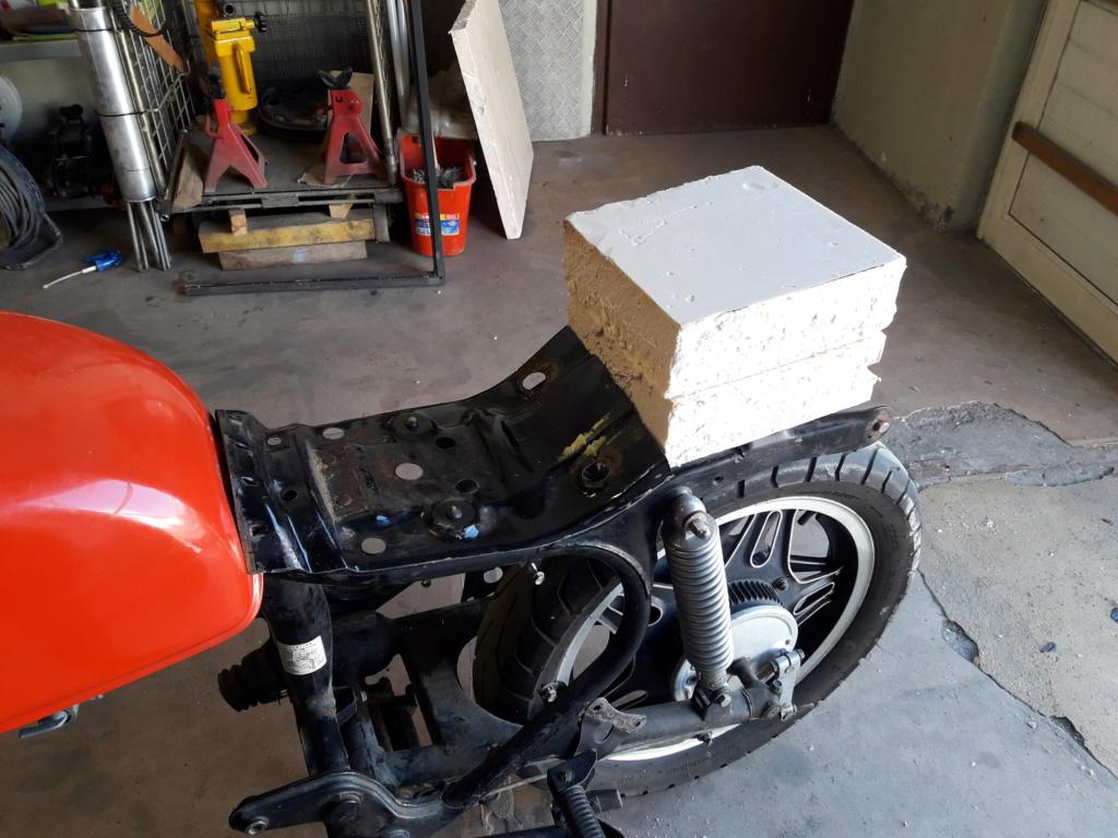Projet CX 400 Café racer 20180914