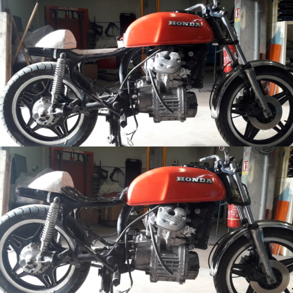 Projet CX 400 Café racer Img_2010