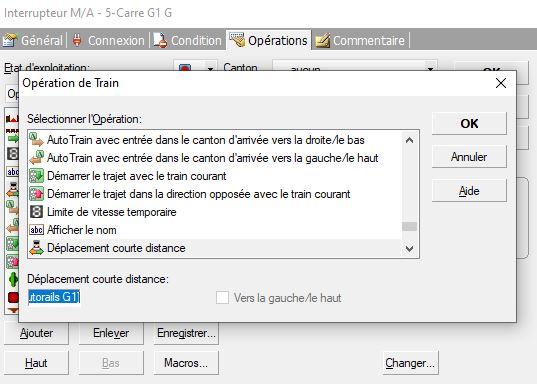 Déplacement courte distance avec variable Captur16