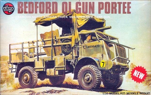 6 pounder gun - Italeri 1/35 Airfix15