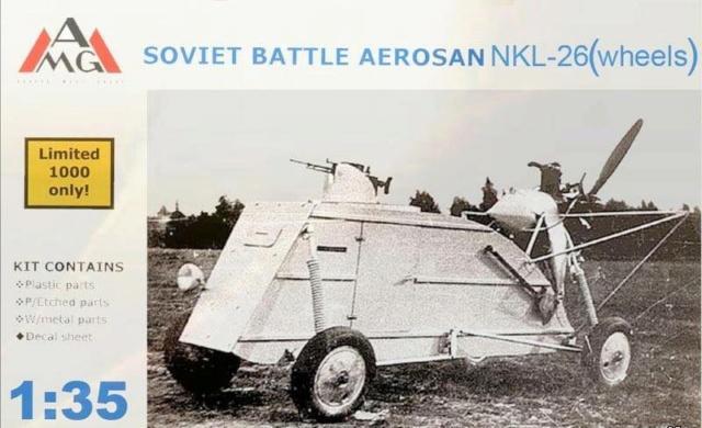 "POISSON D'AVRIL !!! Sd.Kfz.0104-26(r) ""Beute"" - NKL-26 de prise - Trumpeter + conversion AGV - 1/35 Amg10"