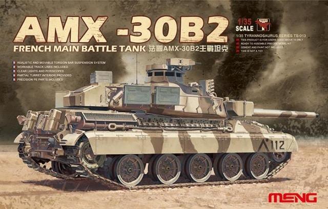 AMX 30 B2 (1/35 Meng ) - Desert Storm opération Daguet 1991 Amx10