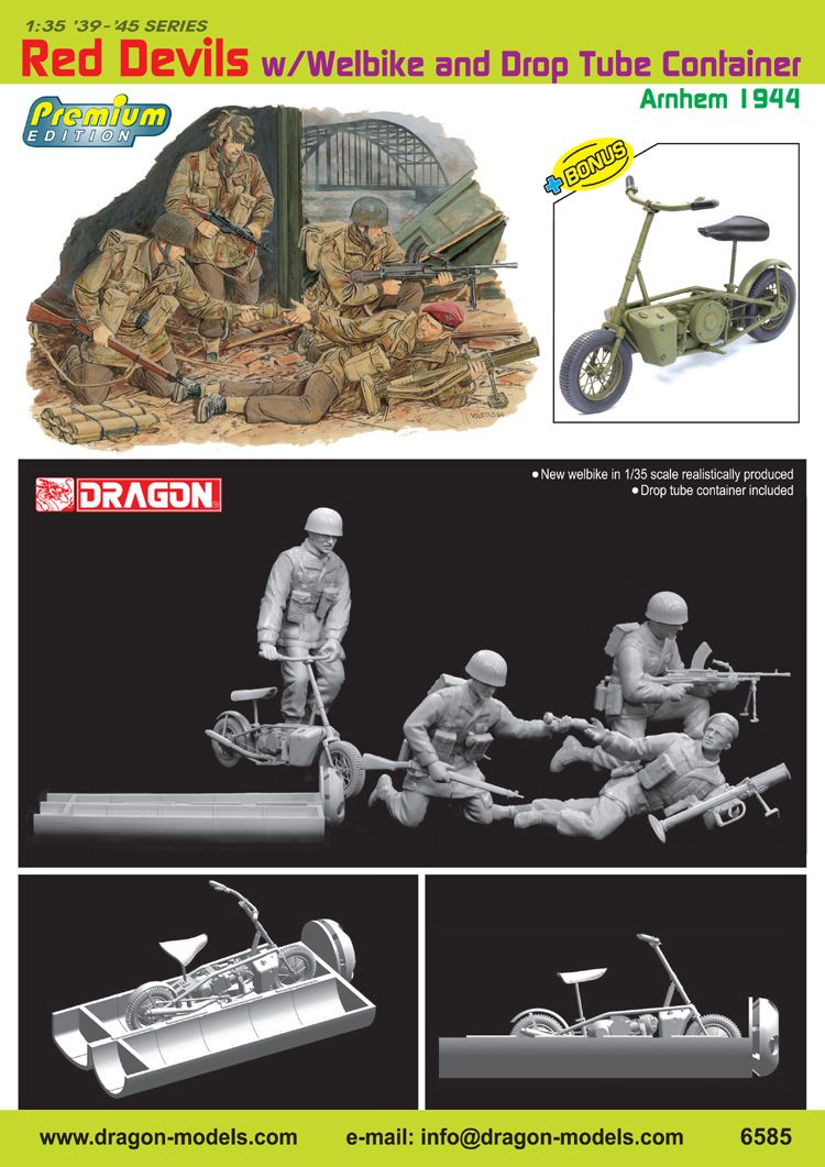 Jeep Willys - 1st Polish Independant Parachute Brigade, Rifle Batalion - Hollande 1944 - SK MODEL + accessoires Bronco 1/35 - Page 4 Dragon10