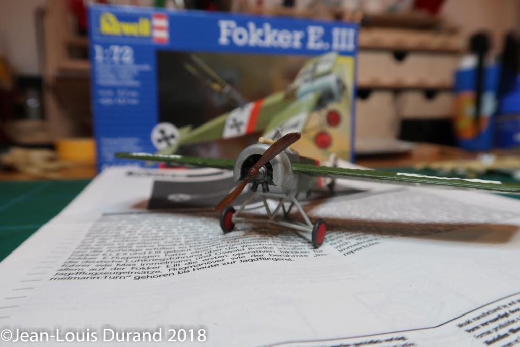 Fokker E.III - Revell - 1/72 - Page 2 Fokker13