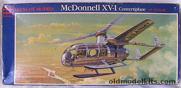 McDonnell XV-1 Convertiplane - Glencoe Models - 1/32 Glenco10