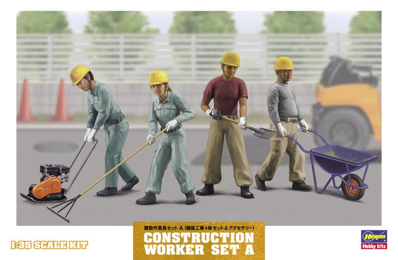 La maçonnerie pour les Nuls - Figurines LZ MODEL et HASEGAWA, accessoires BALATON MODELL et MINIART  Hasega10