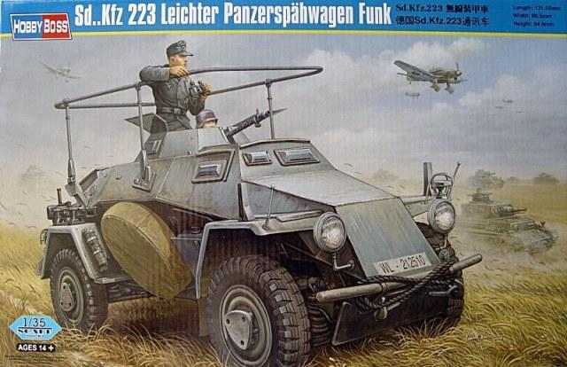 Sd.Kfz 223 Leichter Panzerspähwagen Funk - Hobby Boss - 1/35 Hobby_10
