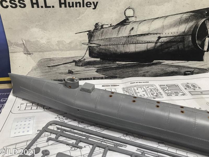 CSS HUNLEY - MIKRO MIR - 1/35 Hunley11