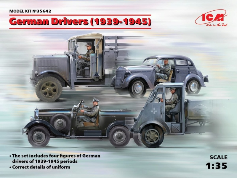 Opel Blitz 1/35ème [Italeri] - Page 2 Icm_3522