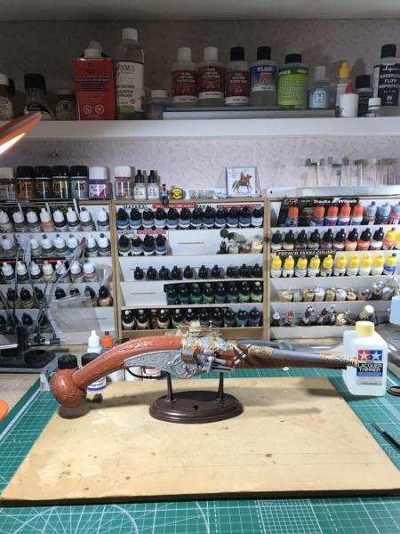 Pistolet à platine à rouet - LIFE-LIKE - Echelle 1/1 Img_5212