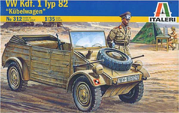 Kübelwagen - Fallschirmpanzer Division H.G., 2. Flak Bataillon, 1. Kompanie, Italie 1944 - Italeri - 1/35 Italer10