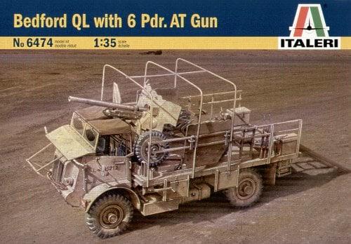 6 pounder gun - Italeri 1/35 Italer15