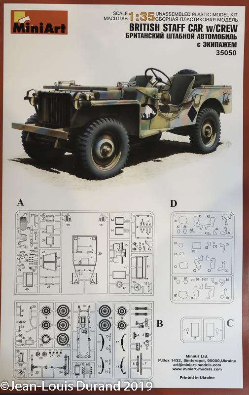 Bantam BRC 40 (Bantam Reconnaissance Car) - MiniArt - 1/35 Jeep_b10