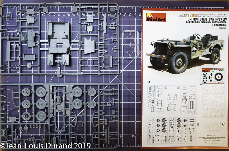 Bantam BRC 40 (Bantam Reconnaissance Car) - MiniArt - 1/35 Jeep_b16