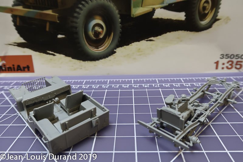 Bantam BRC 40 (Bantam Reconnaissance Car) - MiniArt - 1/35 Jeep_b20