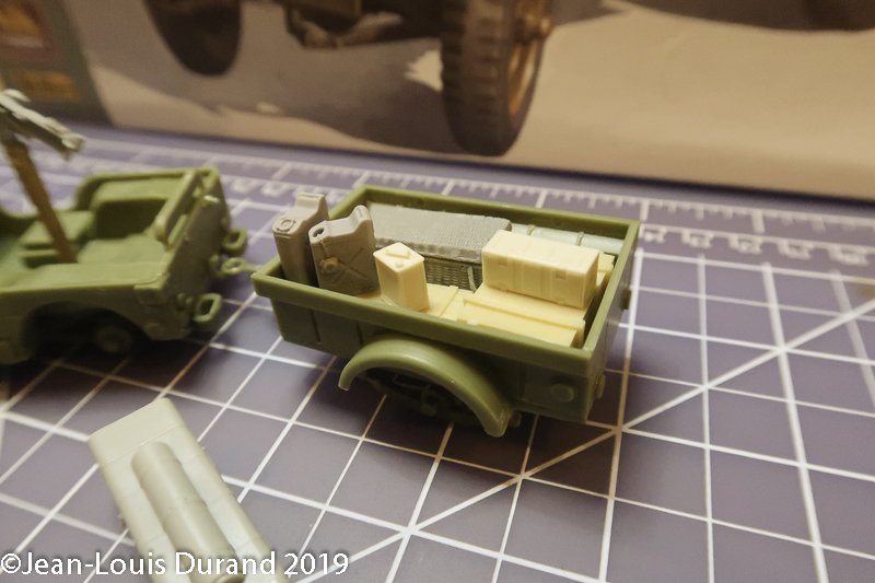 Jeep Willys - 1st Polish Independant Parachute Brigade, Rifle Batalion - Hollande 1944 - SK MODEL + accessoires Bronco 1/35 Jeep_p11