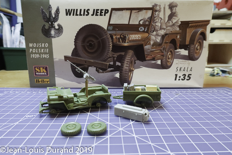 Jeep Willys - 1st Polish Independant Parachute Brigade, Rifle Batalion - Hollande 1944 - SK MODEL + accessoires Bronco 1/35 Jeep_p12