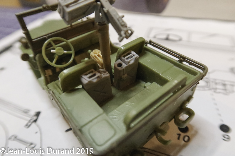 Jeep Willys - 1st Polish Independant Parachute Brigade, Rifle Batalion - Hollande 1944 - SK MODEL + accessoires Bronco 1/35 Jeep_p19