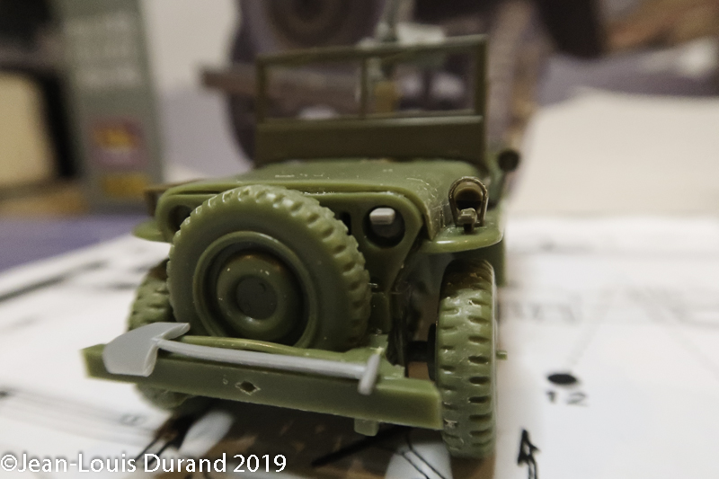 Jeep Willys - 1st Polish Independant Parachute Brigade, Rifle Batalion - Hollande 1944 - SK MODEL + accessoires Bronco 1/35 Jeep_p20