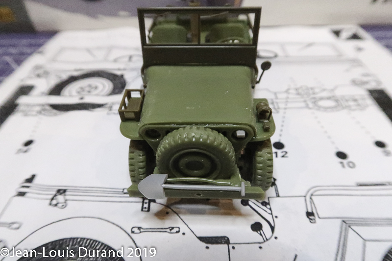 Jeep Willys - 1st Polish Independant Parachute Brigade, Rifle Batalion - Hollande 1944 - SK MODEL + accessoires Bronco 1/35 Jeep_p23
