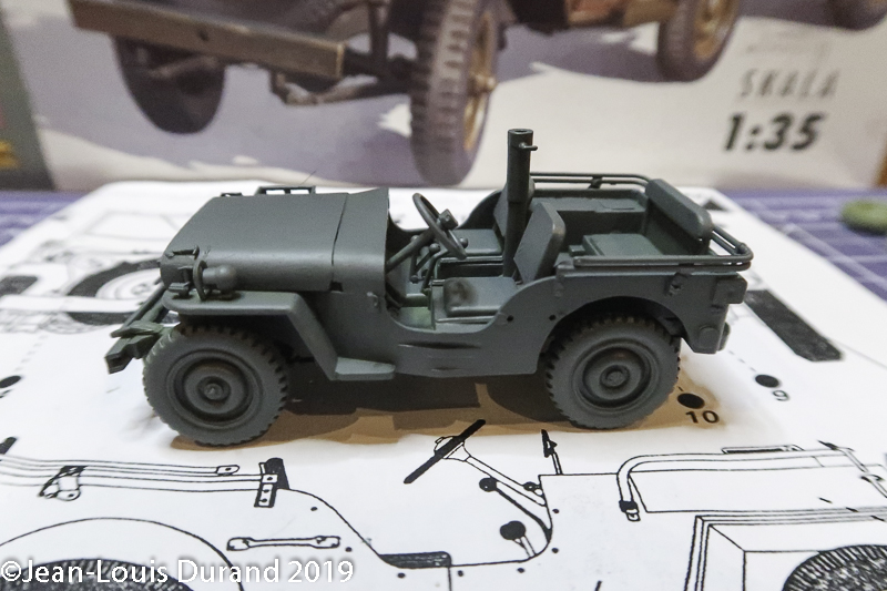Jeep Willys - 1st Polish Independant Parachute Brigade, Rifle Batalion - Hollande 1944 - SK MODEL + accessoires Bronco 1/35 - Page 2 Jeep_p26