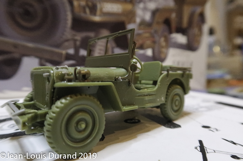 Jeep Willys - 1st Polish Independant Parachute Brigade, Rifle Batalion - Hollande 1944 - SK MODEL + accessoires Bronco 1/35 - Page 2 Jeep_p28