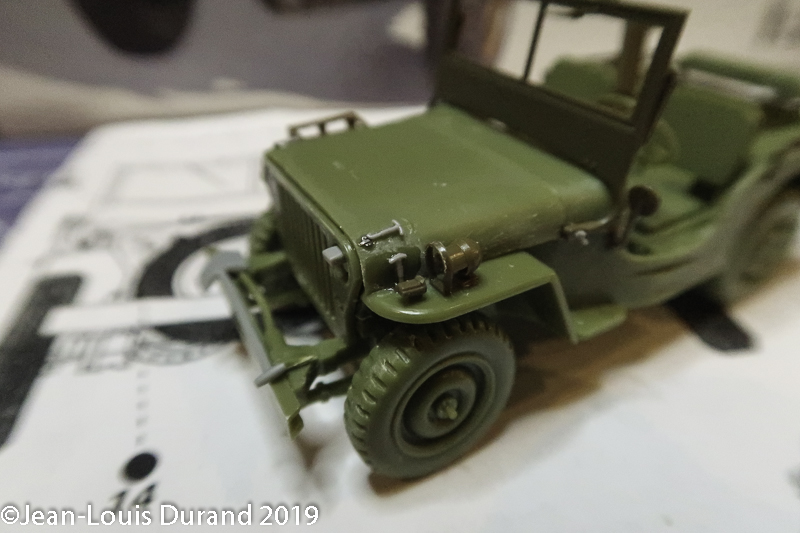Jeep Willys - 1st Polish Independant Parachute Brigade, Rifle Batalion - Hollande 1944 - SK MODEL + accessoires Bronco 1/35 - Page 2 Jeep_p29