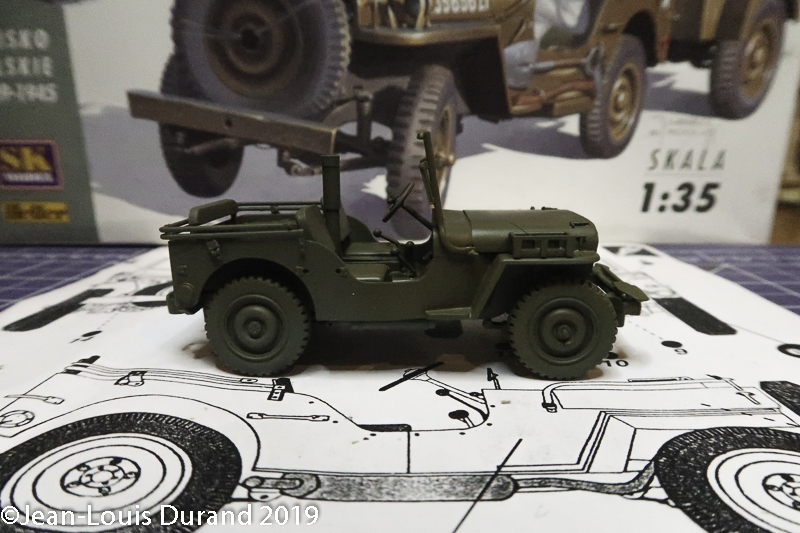 Jeep Willys - 1st Polish Independant Parachute Brigade, Rifle Batalion - Hollande 1944 - SK MODEL + accessoires Bronco 1/35 - Page 3 Jeep_p32