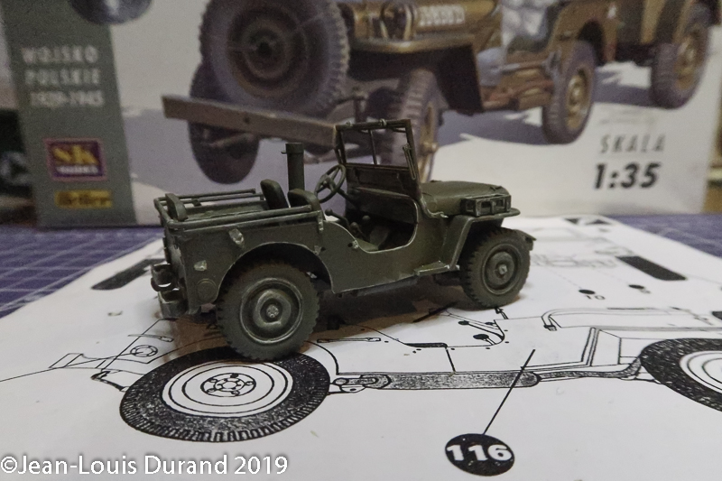 Jeep Willys - 1st Polish Independant Parachute Brigade, Rifle Batalion - Hollande 1944 - SK MODEL + accessoires Bronco 1/35 - Page 3 Jeep_p34