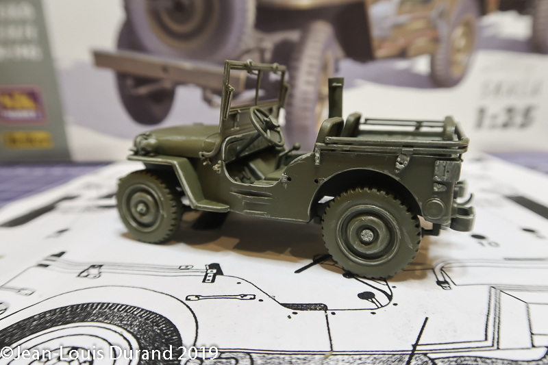 Jeep Willys - 1st Polish Independant Parachute Brigade, Rifle Batalion - Hollande 1944 - SK MODEL + accessoires Bronco 1/35 - Page 3 Jeep_p35