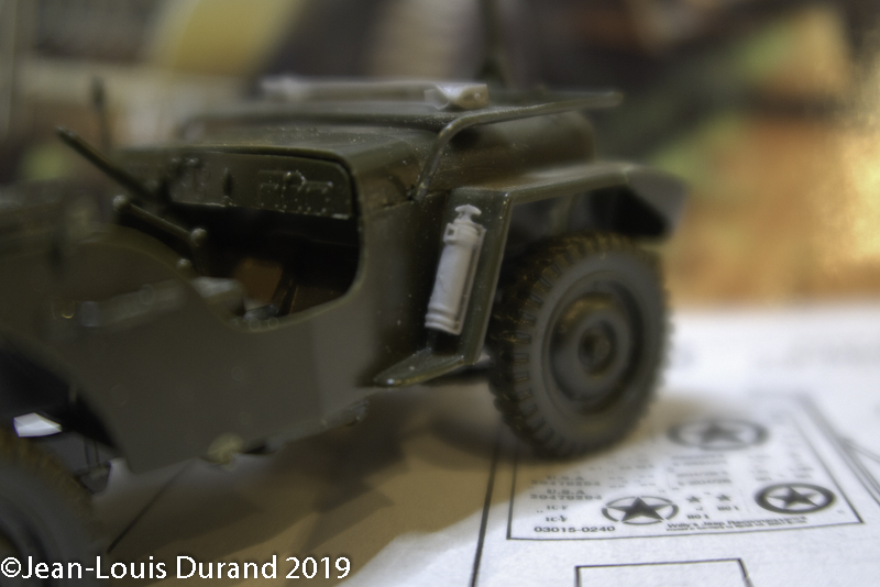 Jeep Willys - HQ-Troop, 2nd Reconnaissance Squadron, 8th Cavalery, 4th Infantry Division 1945 - REVELL 03015 - 1/35 Jeep_w14