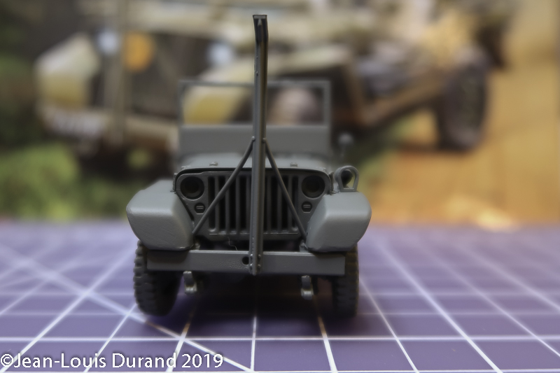 Jeep Willys - HQ-Troop, 2nd Reconnaissance Squadron, 8th Cavalery, 4th Infantry Division 1945 - REVELL 03015 - 1/35 Jeep_w19