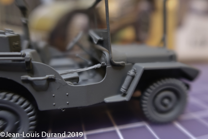 Jeep Willys - HQ-Troop, 2nd Reconnaissance Squadron, 8th Cavalery, 4th Infantry Division 1945 - REVELL 03015 - 1/35 Jeep_w23