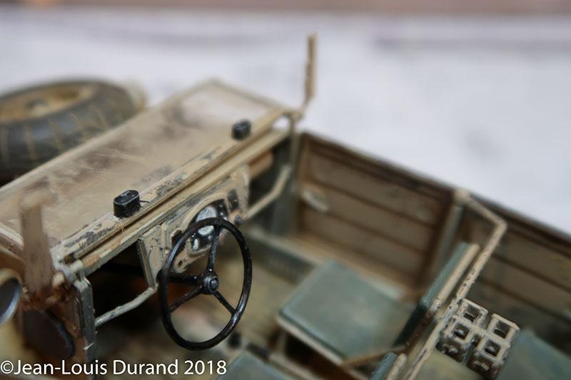 Kübelwagen Hasegawa 1/24 - Une petite infidélité à Small-Tracks Kubel_16