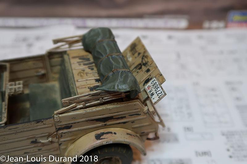 Kübelwagen Hasegawa 1/24 - Une petite infidélité à Small-Tracks Kubel_20