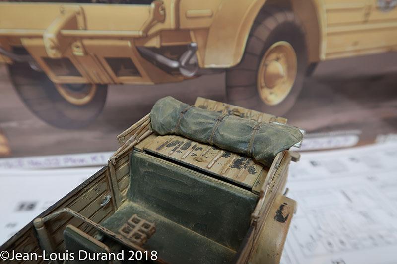 Kübelwagen Hasegawa 1/24 - Une petite infidélité à Small-Tracks Kubel_22