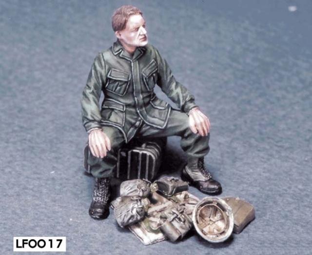 Soldats U.S Vietnam. 1/35 Verlinden Bravo 6   Fini Legend12