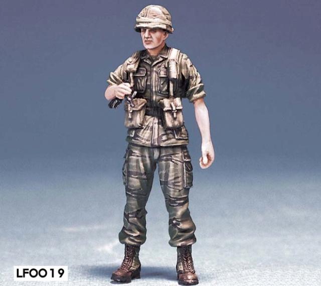 Soldats U.S Vietnam. 1/35 Verlinden Bravo 6   Fini Legend13
